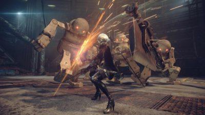 Il nuovo trailer di NieR: Automata ci mostra armi e sistema di combattimento