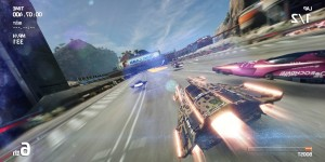 Fast racing neo: 15 minuti di gameplay