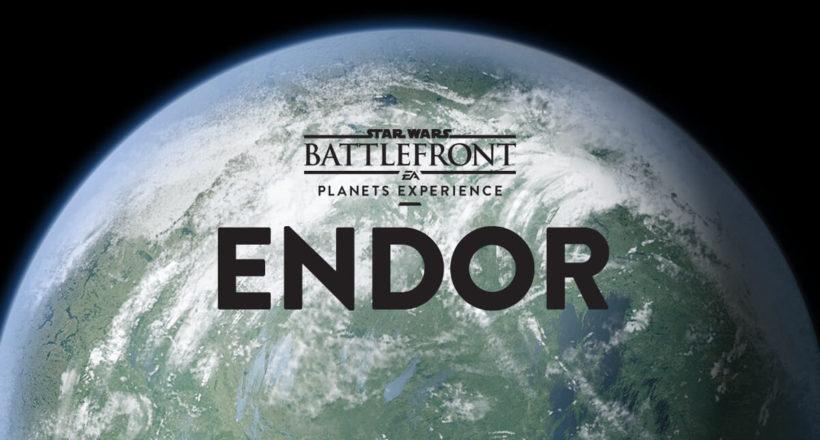 Star Wars Battlefront: dettagli sul pianeta Endor