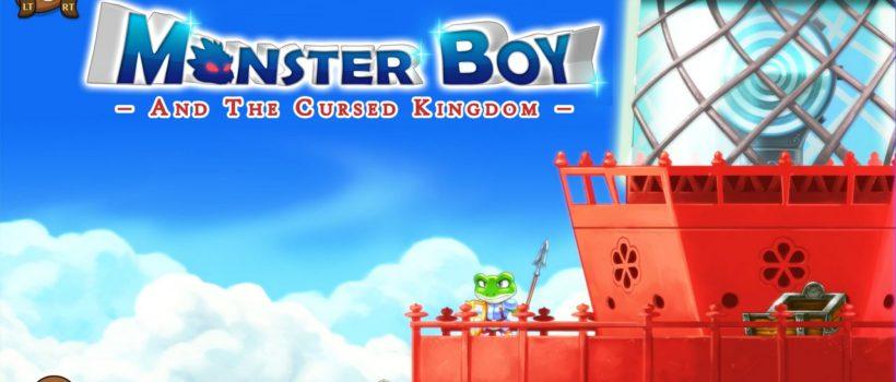 Monster Boy and the Cursed Kingdom uscirà il 6 novembre e sarà giocabile al Gamescom