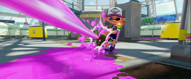 Una nuova arma per Splatoon: arriva lo Zink Mini Splatting