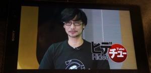 Hideo Kojima si prepara ad iniziare un programma su Youtube