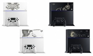 Nuove PS4 brandizzate Street Fighter V, via alla vendita in Giappone