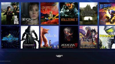 PlayStation Now, ecco il video ufficiale che mostra giochi e prezzo