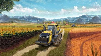 Farming Simulator 17 mostra il sistema di trasporti su rotaia in un nuovo video di gameplay