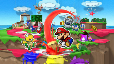 Paper Mario: Color Splash, un video ci mostra lo scontro con il boss Iggy Koopa