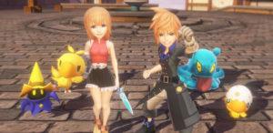 World of Final Fantasy è disponibile da oggi anche per PC su Steam