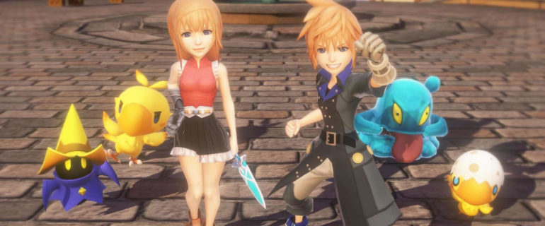 World of Final Fantasy: la versione PC arriverà su Steam a novembre