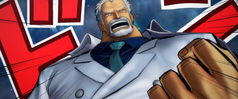 One Piece Burning Blood: Monkey D. Garp e Caesar Clown si uniscono al roster del gioco