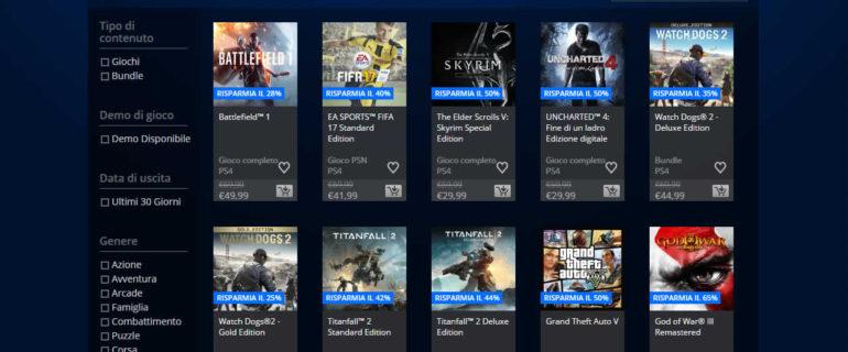 E' iniziato il Black Friday: ecco gli sconti su PlayStation Store