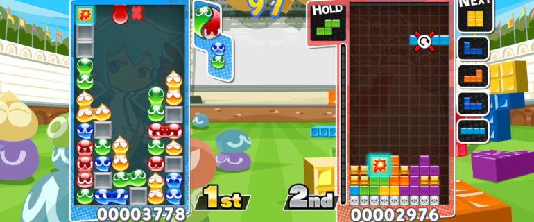 Puyo Puyo Tetris: disponibile la demo su Nintendo eShop