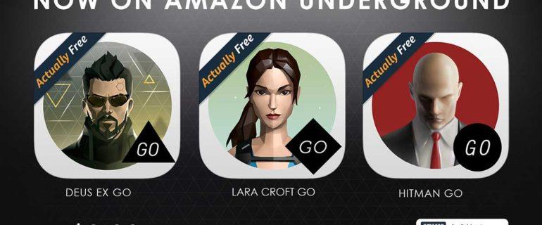 Amazon Underground: tre giochi Square Enix in regalo, ecco come ottenerli