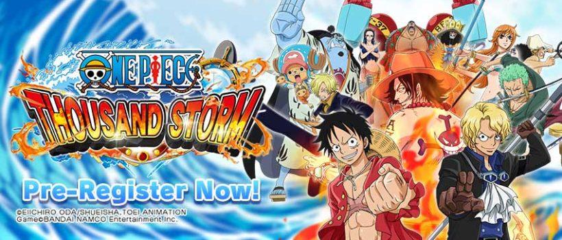 One Piece Thousand Storm: ecco tutte le novità dell'ultimo aggiornamento