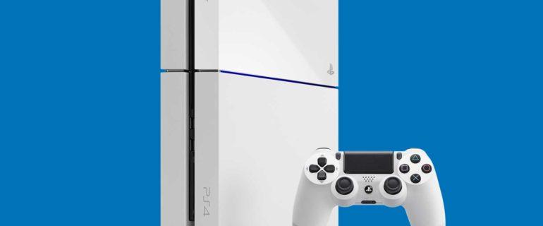 Arriva Glacier White, la prima variante di colore per PlayStation 4