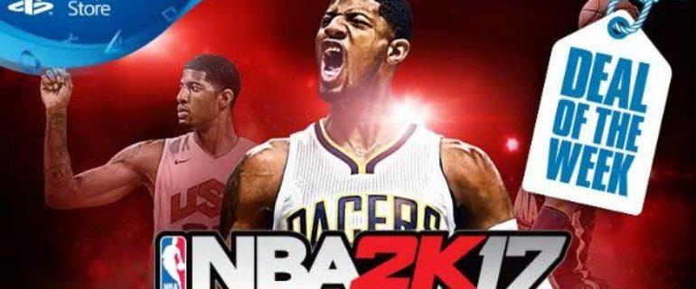 NBA 2K17 è la nuova offerta della settimana su PlayStation Store