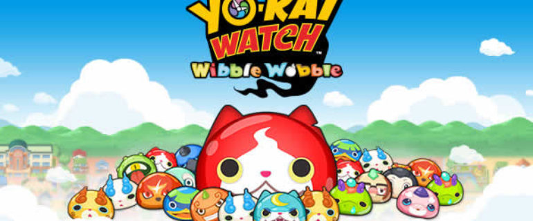 YO-KAI WATCH Wibble Wobble disponibile per Android e iOS