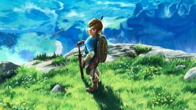 The Legend of Zelda: Breath of the Wild per Nintendo Switch in offerta su Amazon