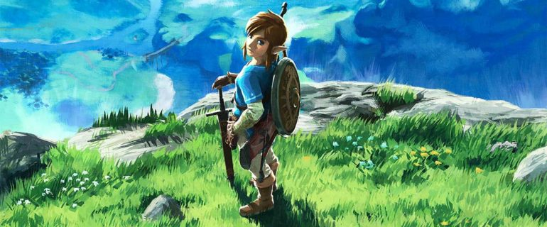 The Legend of Zelda: Breath of the Wild per Nintendo Switch in offerta su Amazon