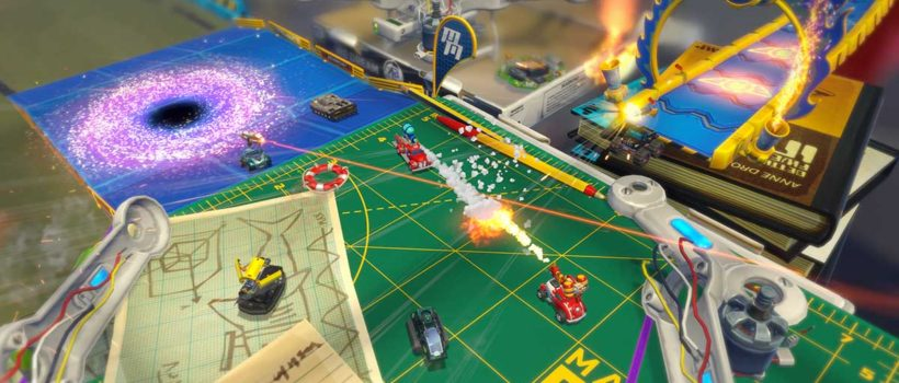 Micro Machines World Series: ecco il trailer di lancio