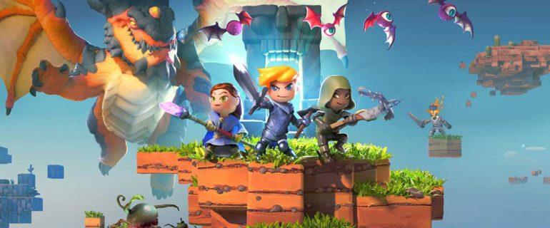 Portal Knights: versione di prova gratuita e nuova data d'uscita su PS4 e Xbox One