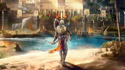 Assassin's Creed Origins, il nuovo trailer ci presenta l'ambientazione di gioco