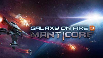 Manticore Galaxy on Fire è in arrivo anche su Nintendo Switch