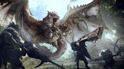 Monster Hunter World: un video ci mostra il prototipo del gioco con Lagiacrus