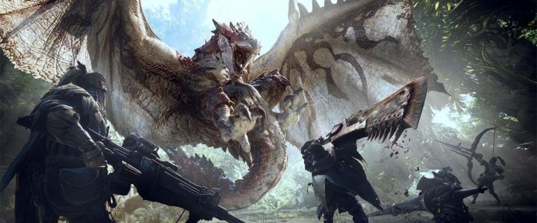 Monster Hunter World, un video inedito ci mostra il multigiocatore