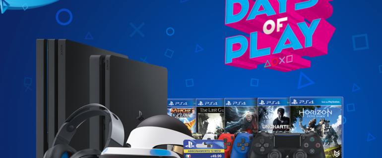 PlayStation Store e Amazon: sono iniziati gli sconti Days of Play