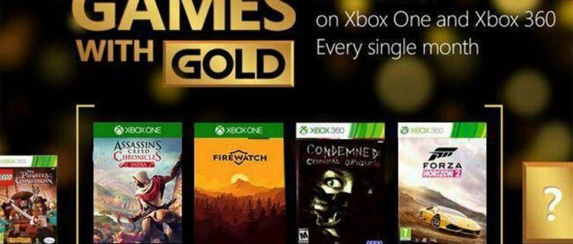 Games With Gold: svelati in anticipo i titoli di agosto 2017?