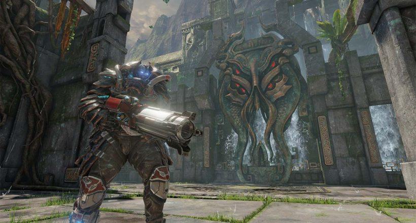 Quake Champions, l'aggiornamento di dicembre introduce il nuovo Battle Pass e la modalità Conquista la bandiera
