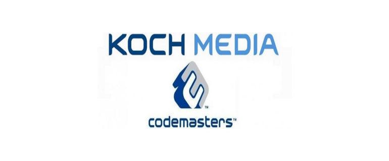 KOCH Media e Codemasters rinnovano il loro accordo globale di publishing e distribuzione