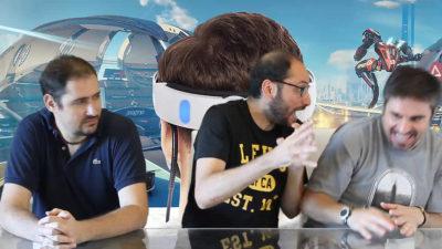 PlayStation VR, cosa si prova davvero giocando? Ecco il nuovo video di Press Play On Tape