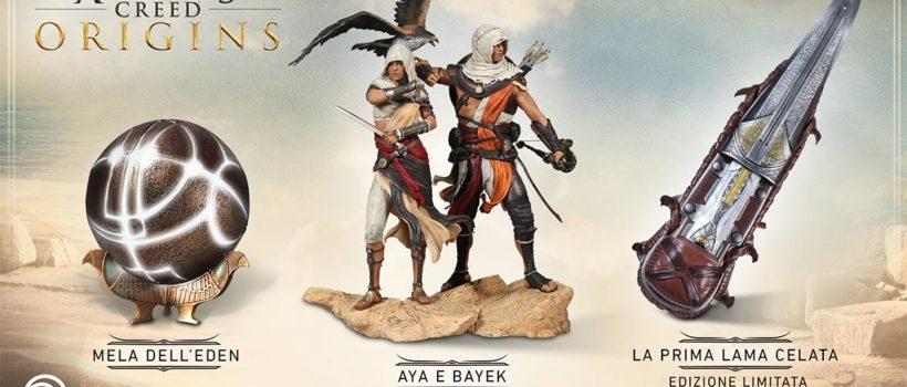 Assassin's Creed Origins, le nuove statuette di  sono disponibili al preordine