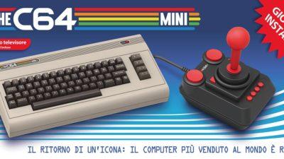 THEC64 Mini, torna il Commodore 64 con joystick e 64 giochi installati