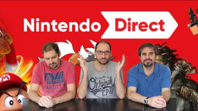 Nintendo Direct: il nostro commento video in Press Play On Tape