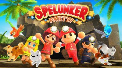 Spelunker Party, il nuovo platform di Square Enix, arriva su Nintendo Switch e Steam in autunno