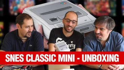 SNES Classic Mini: ecco il nostro unboxing in Press Play On Tape