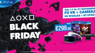 PlayStation Store, il Black Friday comincia oggi: tante offerte dal 17 al 27 novembre