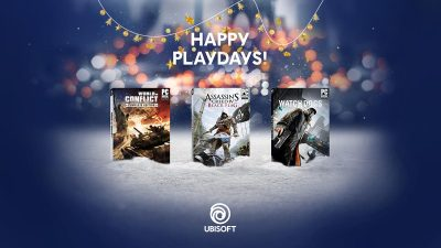 Ubisoft estende gli Happy Playdays regalando World in Conflict, Assassin's Creed IV Black Flag e Watch Dogs