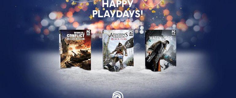 Ubisoft estende gli Happy Playdays regalando World in Conflict, Assassin's Creed IV Black Flag e Watch Dogs