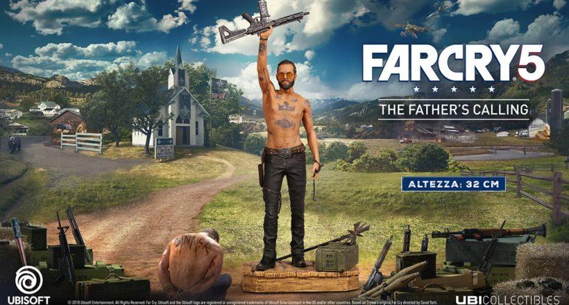 Ubisoft annuncia The Father's Calling, un'esclusiva statuetta ispirata a Joseph Seed di Far Cry 5