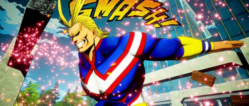 My Hero Game Project svela tre nuovi personaggi