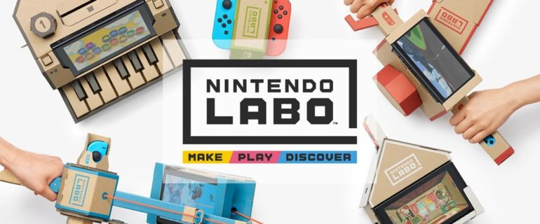 Nintendo Labo: aperti i preordini su Amazon Italia