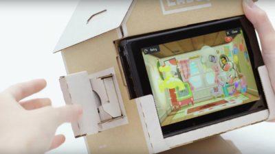 Nintendo Labo: ecco il prezzo ufficiale del Kit Assortito e del Kit Robot