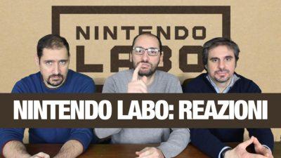 Nintendo Labo: commenti e reazioni all'annuncio