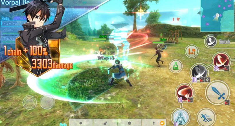 Sword Art Online: Integral Factor è disponibile su App Store e Google Play