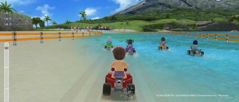 Go Vacation: annunciato con un trailer il party game estivo per Nintendo Switch