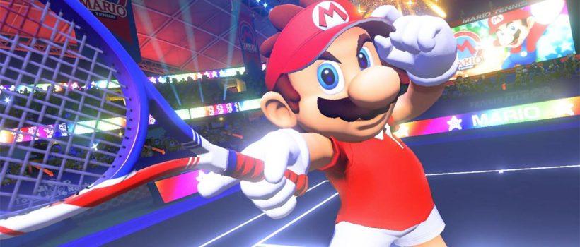 Mario Tennis Aces è gratis questa settimana su Nintendo Switch: parte il servizio Giochi in prova