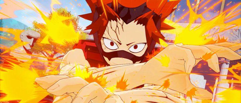 My Hero One's Justice:  Fumikae, Eijiro e Kyoka si uniranno al roster